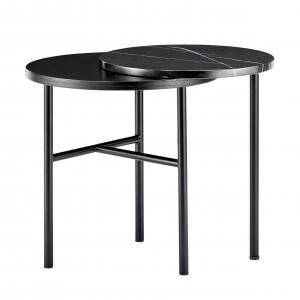 Table basse CLOSER marbre noir