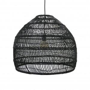 WICKER Hanging lamp - Black