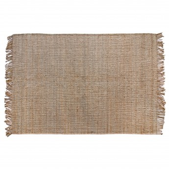 Natural jute carpet