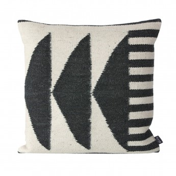 Kelim graphics 2 cushion