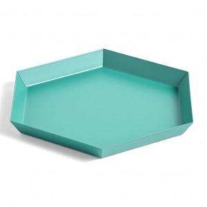KALEIDO tray Emerald green