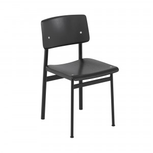LOFT chair black/painted oak