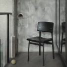 LOFT chair black/oak