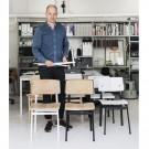 LOFT chair black/oak