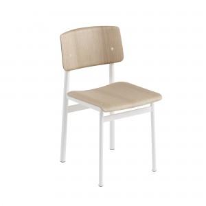 LOFT chair white/oak