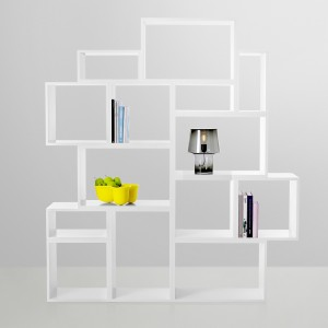 STACKED shelf system open modules