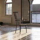 J 110 armchair natural beech
