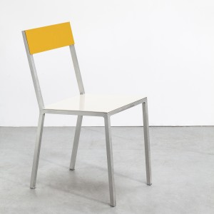 ALU chair yellow-white