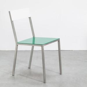 ALU chair white-green