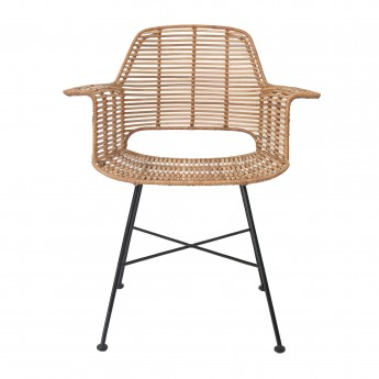 Armchair RATTAN natural