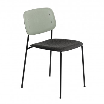 SOFT EDGE chair - steel base