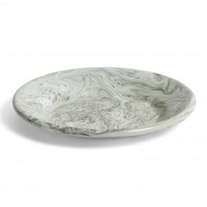 Assiette moyenne SOFT ICE verte