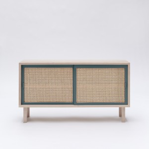 STRAW dark blue grey sideboard