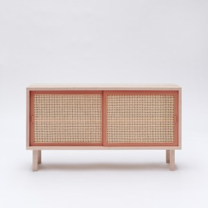 STRAW terracotta sideboard