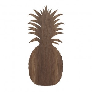 PINEAPPLE lamp smoked oak