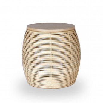 VIVI rattan coffee table Ø38 cm