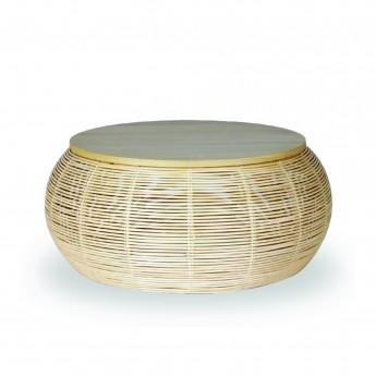 VIVI rattan coffee table Ø60 cm