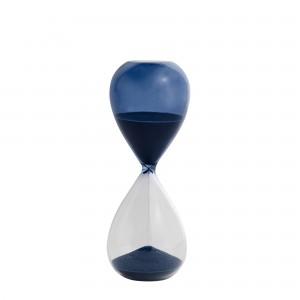 Sablier TIME M bleu pétrole