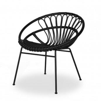 ROXANNE black armchair