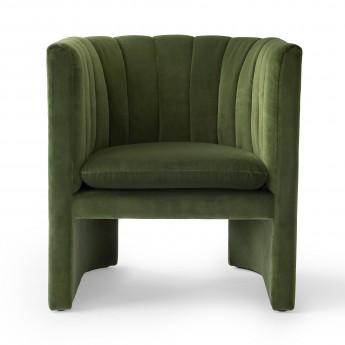 Fauteuil LOAFER - Velvet green