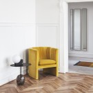Fauteuil LOAFER - Velvet yellow
