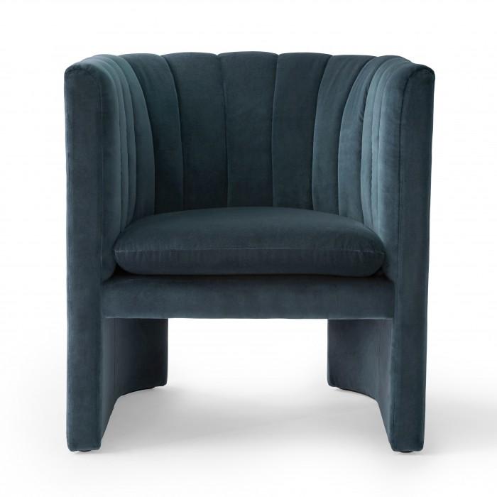Fauteuil LOAFER - Velvet blue