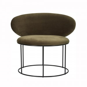 BELLA armchair green
