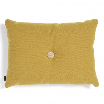 DOT cushion golden yellow