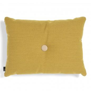 DOT cushion golden yellow