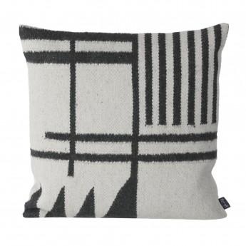 Kelim graphics 2 cushion