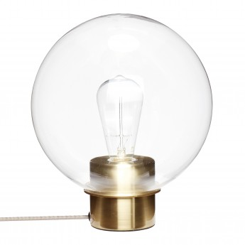 Lampe de table ronde GLASS