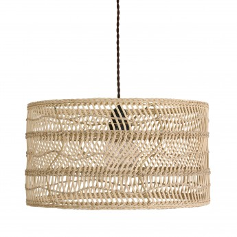 Suspension WICKER osier naturel