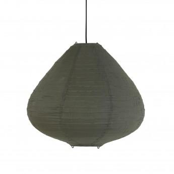LAMPION fabric lantern army green
