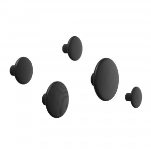 Black hooks set DOTS