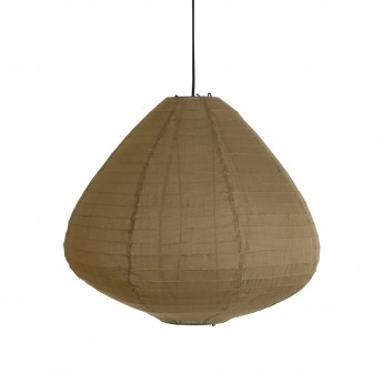Lanterne LAMPION marron