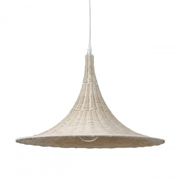 Suspension trumpet en osier naturel hk living for Suspension osier design