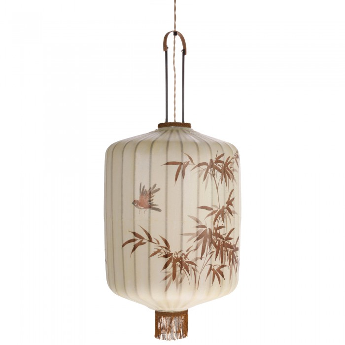 TRADITIONAL cream lantern L