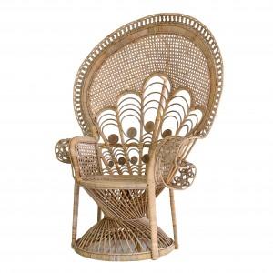 PEACOCK rattan armchair