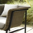 WICKED dark green armchair