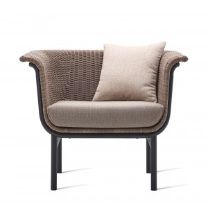 WICKED taupe armchair
