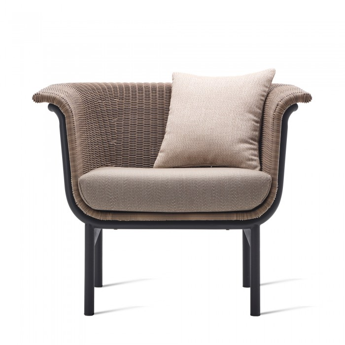 Fauteuil WICKED taupe