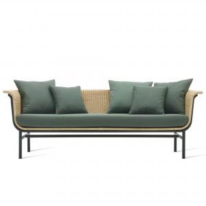 WICKED dark green sofa