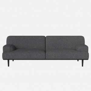 MADISON sofa 3 seaters HAZEL Blue