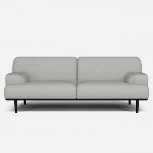 Canapé MADISON 2 places 1/2 QUAL light grey