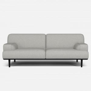 MADISON sofa 2,5 seaters QUAL light grey