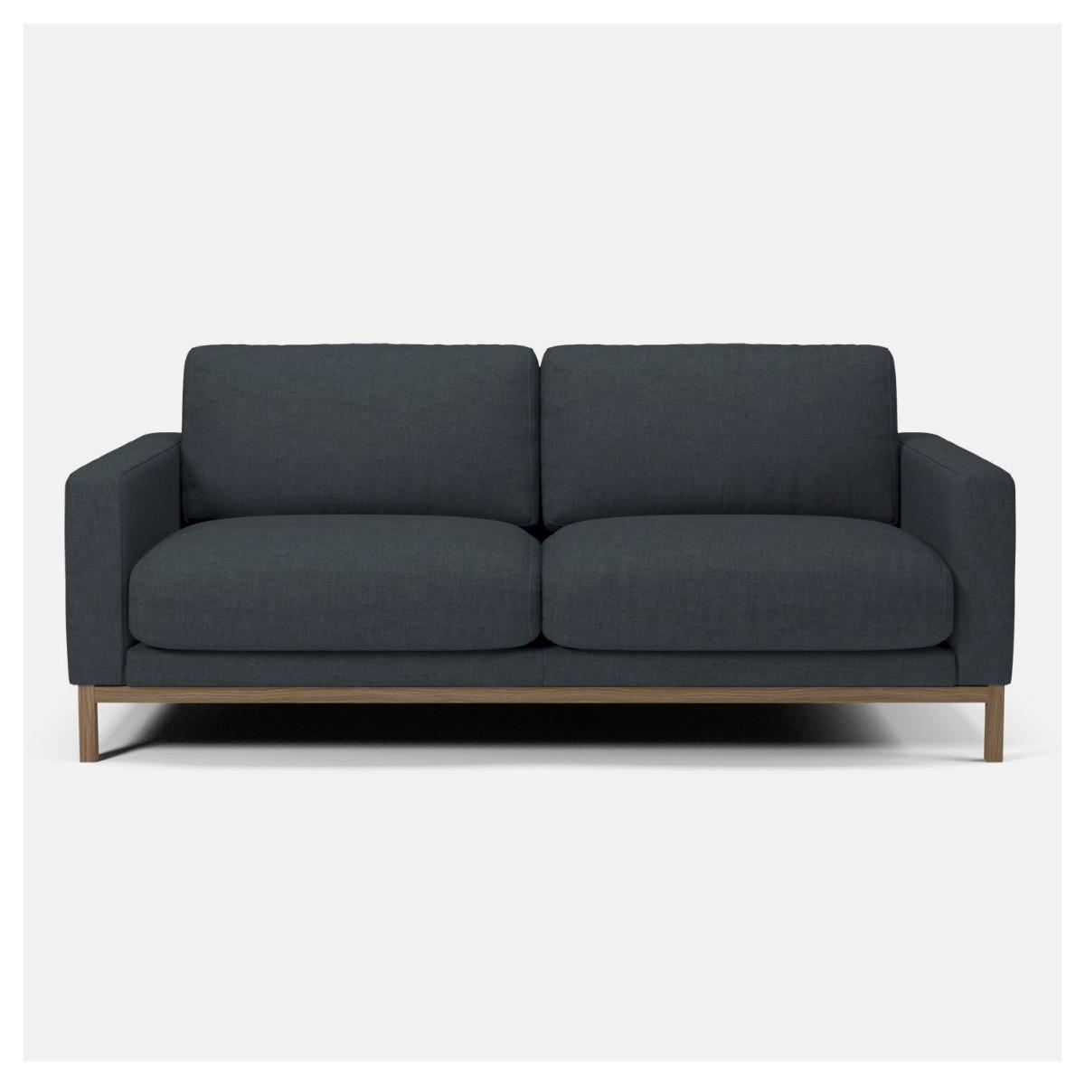 canap north 2 5 places nantes dust blue bolia. Black Bedroom Furniture Sets. Home Design Ideas