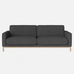 NORTH sofa 3 seaters Hazel dark grey