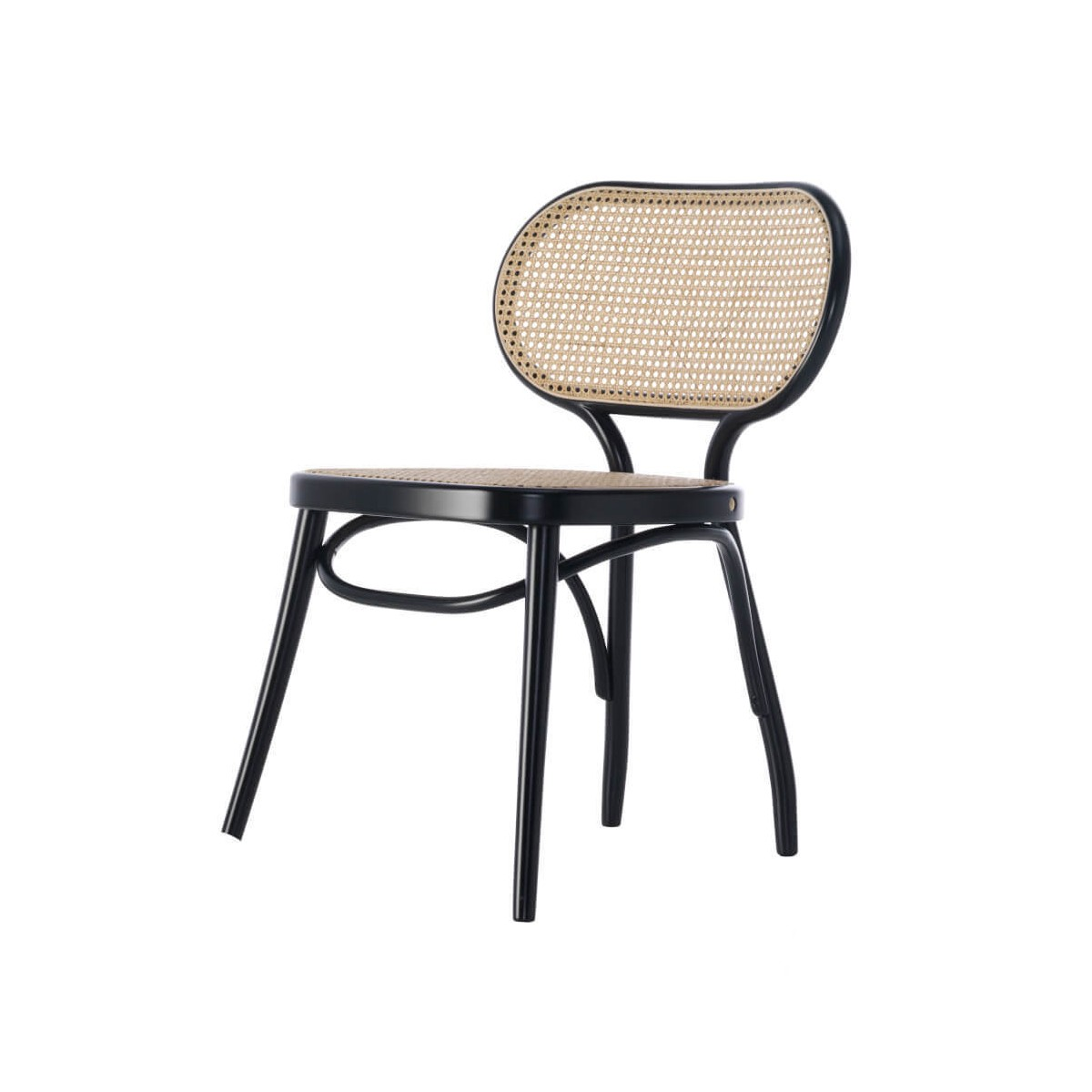 Chaise Bodystuhl Wiener GTV Design Noir | Made In Design
