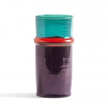 MOROCCAN vase S purple