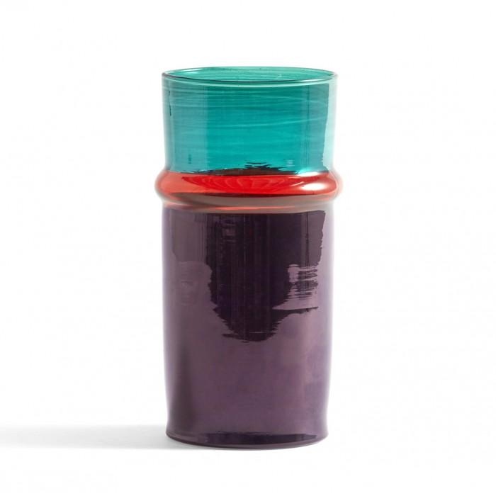 MOROCCAN vase S purple